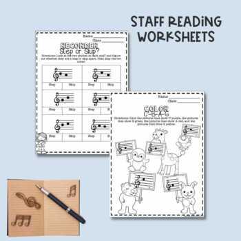 No Prep C'BAG Recorder Worksheets