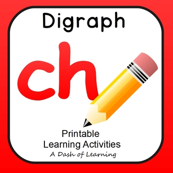No Prep CH Digraph Activity Pack