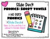 No Prep CVC Short Vowels Digital Resource   Google Slides