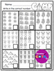 No Prep Camping Differentiated Worksheets
