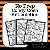 No Prep Candy Corn Articulation