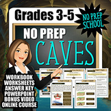 No-Prep Caves Complete Resource Pack