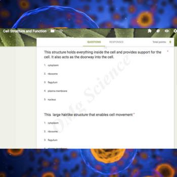 Cells and Membrane Transport (No Prep!)