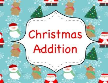 No Prep- Christmas Addition Games