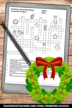 No Prep Christmas Around the World Activities