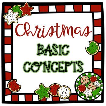 No Prep Christmas Basic Concepts