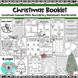 No Prep Christmas Booklet: Holiday Math And Literacy Worksheets And Activities