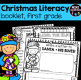 First Grade Christmas Literacy Worksheets