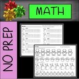 No Prep Christmas Math First Grade