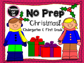No Prep Christmas Packet {19 slides}