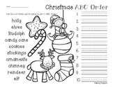 No Prep: Christmas / Winter - ABC Order