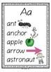 No Prep Classroom Alphabet Wall Charts  Australian Version
