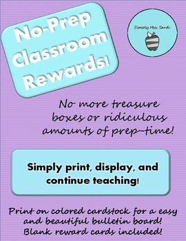 No-Prep Classroom Rewards