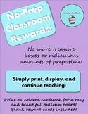 No-Prep Classroom Rewards