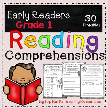 No Prep Close Reading Comprehensions and Questions Grade 1