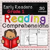 No Prep Close Reading Comprehensions and Questions Grade 1
