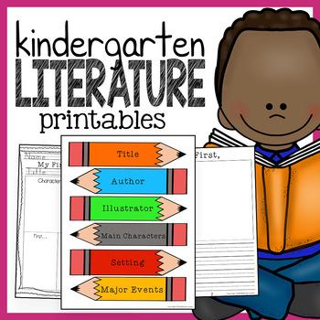 Kindergarten Literature Pack