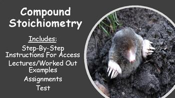 No Prep Compound Stoichiometry Bundle