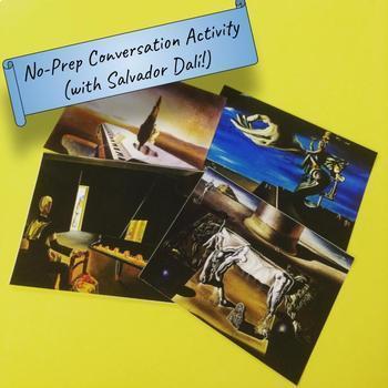 No-Prep Conversation Activity (with Salvador Dalí!)