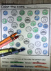 No Prep Counting Coins Differentiated Worksheets and Activities (color)