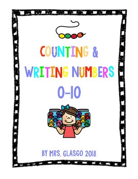 No Prep Counting & Writing Numbers 0-10