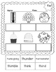 No Prep Cut and Paste Digraphs WH, SH, CH & TH #2