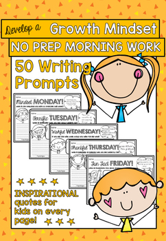 No Prep Daily Writing Prompts