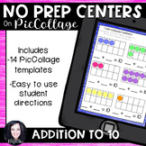 No Prep Digital Math Centers for Pic Collage and Seesaw Ad