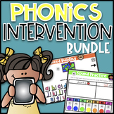 Phonics Intervention Bundle  Google Classroom  Interactive