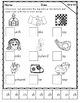 No Prep Digraphs CH, SH, TH, WH Cut and Paste Activities