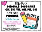 No Prep Digraphs Digital Resource   Google Slides Compatible