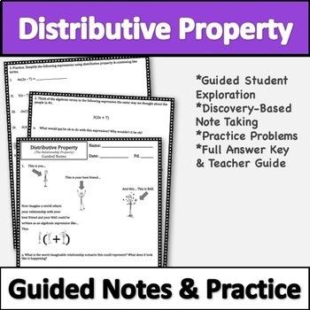 Distributive Property Lesson