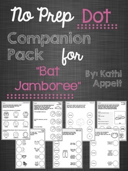 "No Prep Dot Companion Pack for ""Bat Jamboree"""