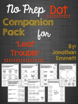 """No Prep Dot Companion Pack for """"Leaf Trouble"""""""