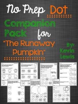 "No Prep Dot Companion Pack for ""The Runaway Pumpkin"""