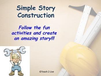 No Prep ELA Simple Story Construction