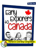 No Prep! Early Explorers to Canada -Cabot, Cartier, Frobis