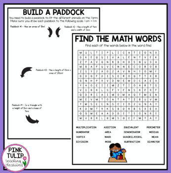 No Prep Early Finisher Worksheet Pack - Great for Substitute Teachers