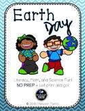 No Prep! Earth Day Printables