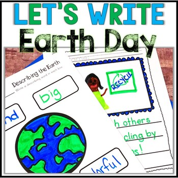 No Prep! Earth Day/ Recycling Writing - Journal - Writing Workshop - Center