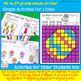 No-Prep Easter Speech Therapy Activities with Yes-No & WH Questions