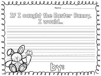 No Prep Easter/Spring -- [Math, Literacy, & Fun Pages! 1st, 2nd, & 3rd Grade]