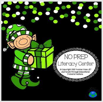 No Prep Elf Literacy Center
