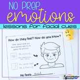 No Prep Packet: Emotions and Lessons for Facial Cues (Level 1)