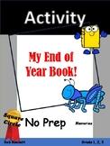 No Prep End of Year Memory Book