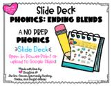 No Prep Ending Blends Digital Resource   Google Slides Compatible