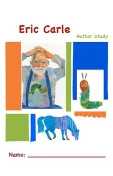 No Prep Eric Carle Author Study Unit