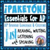 Distance Learning Esenciales de AP * Essential AP: Read, Write Listen, Speak
