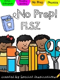 No Prep! FLOSS Rule Phonics Activities & Literacy Centers