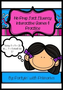 Fact Fluency Interactive Games and Practice No Prep